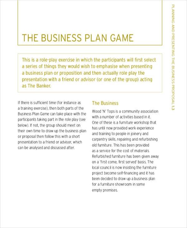 strategic business plan proposal1