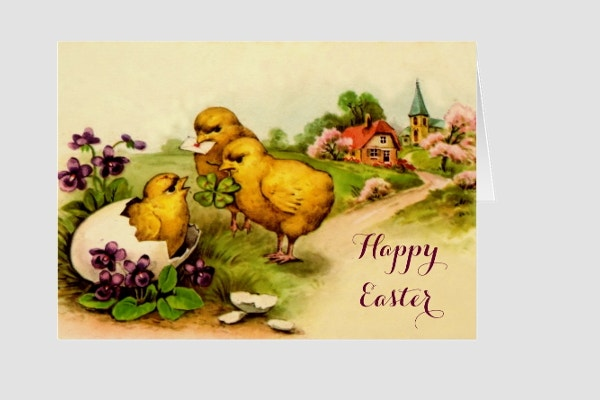 9+ Easter Greeting Card Templates | Free & Premium Templates