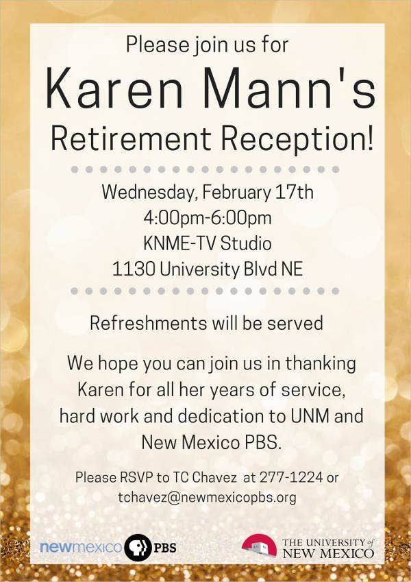 retirement party flyers koni polycode co