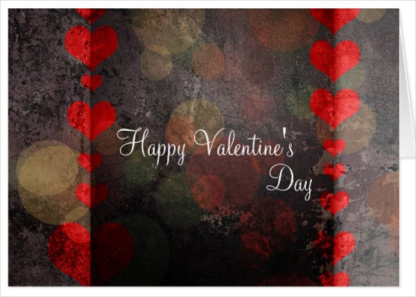 valentines day printable gift card