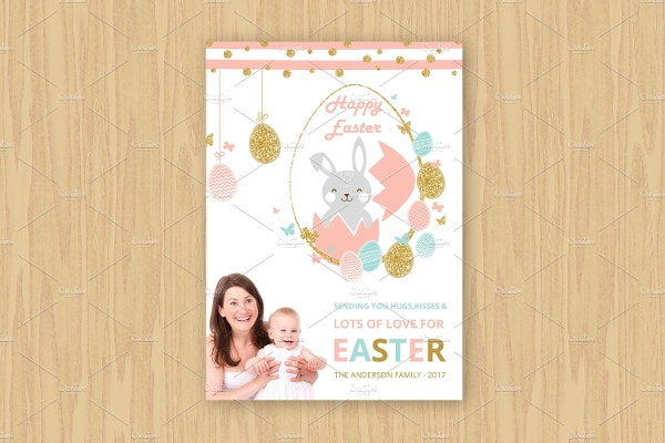 easter-family-greeting-card-template