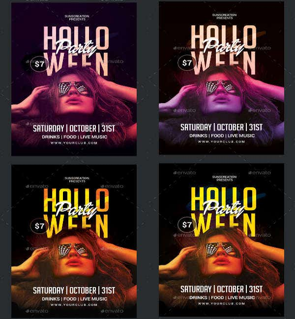 -Halloween Costume Party Flyer