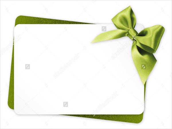 48 Sample Gift Cards – Sample Gift Card Envelope Template
