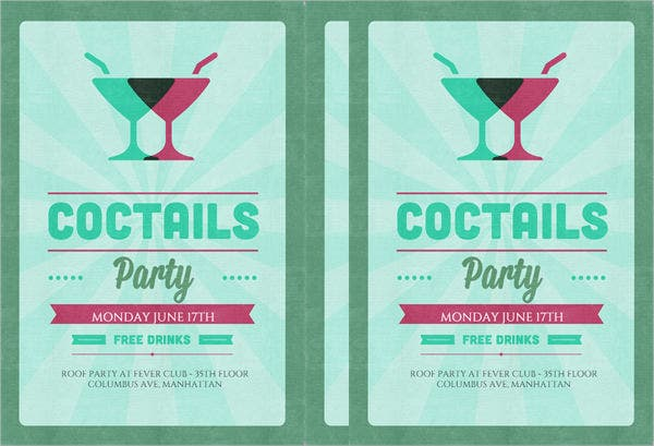 cocktail-party-invitation-flyer