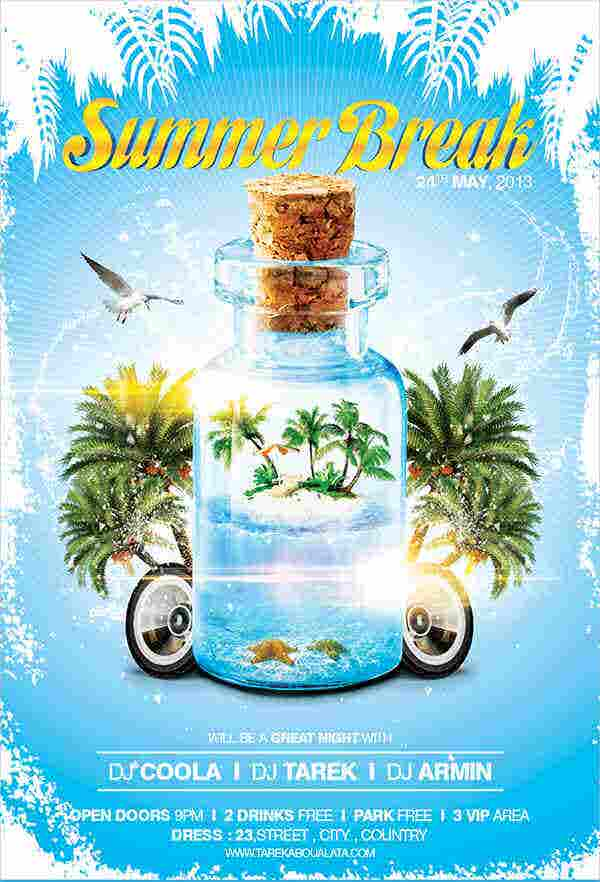 summer-break-party-flyer