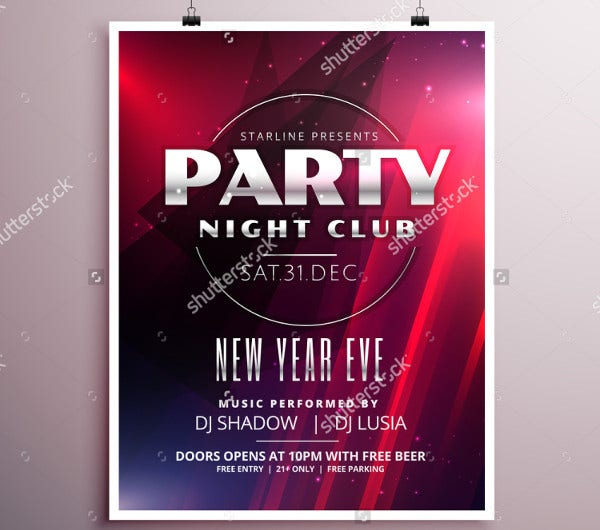 -Night Club Party Flyer