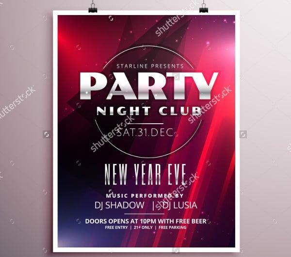 night club party flyer1