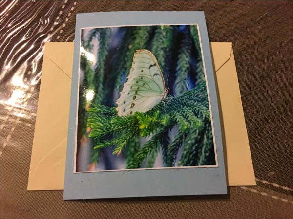 Homemade Photo Greeting Card