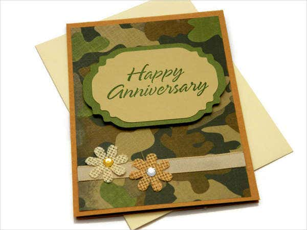 Homemade Anniversary Greeting Card