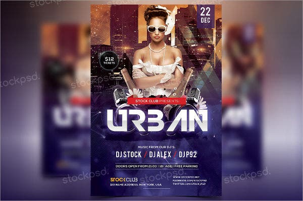 free-urban-party-flyer