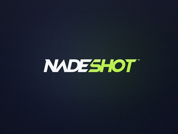 nadeshot-text-logo-design