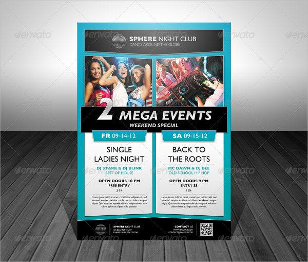 double-promotional-event-flyer