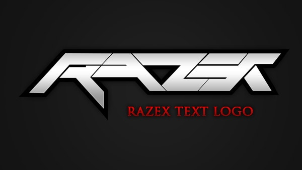 razer-text-logo-template