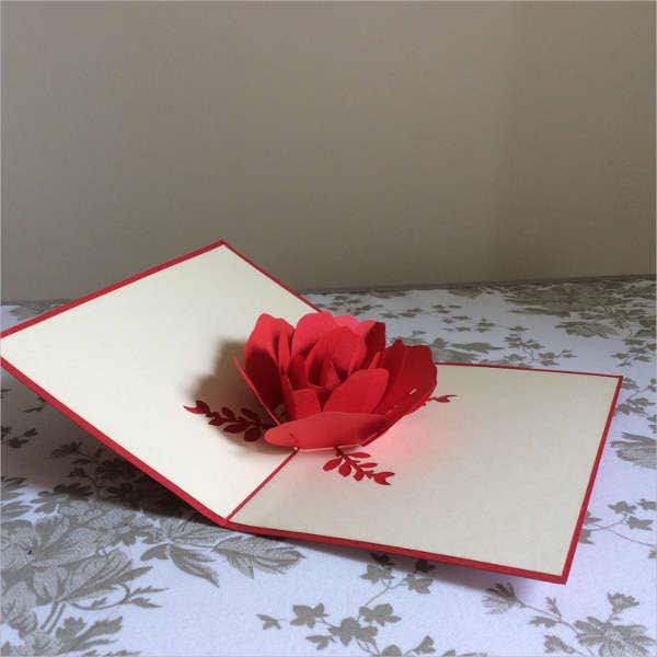 Homemade Pop Up Greeting Card