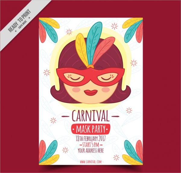 vintage-carnival-party-flyer