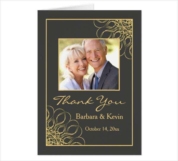 Anniversary Photo Greeting Card