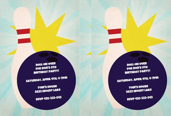 bowling-birthday-party-flyer