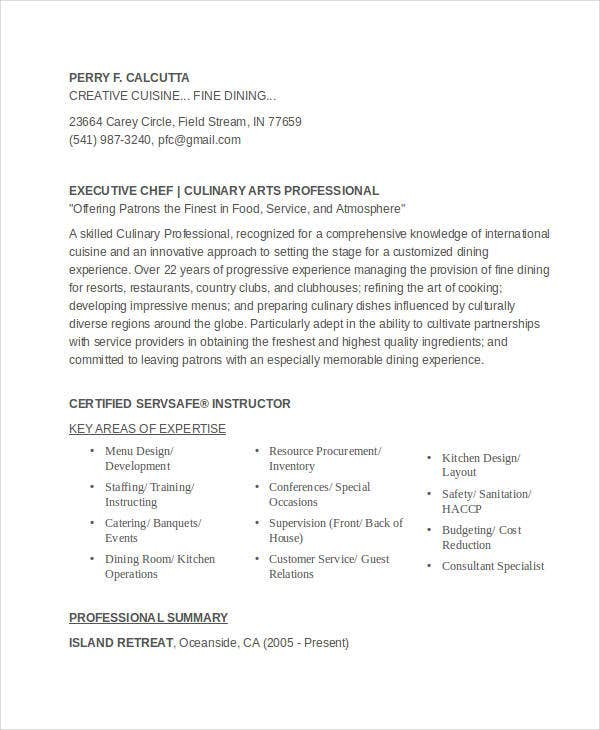 61 executive resume templates free premium templates