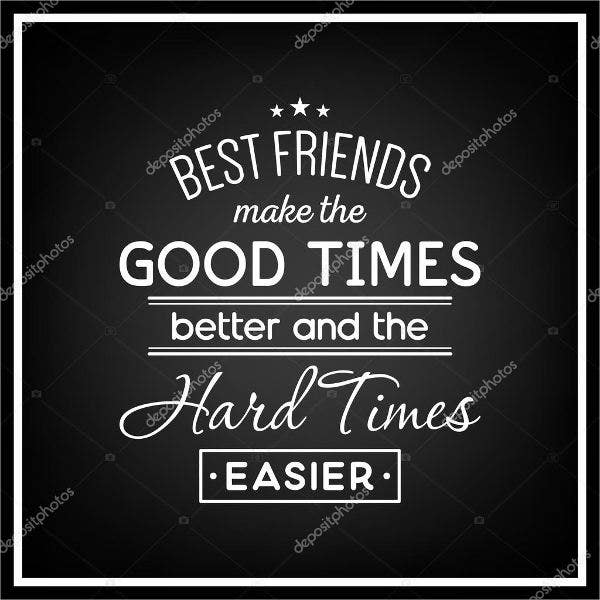 best friends quote poster1