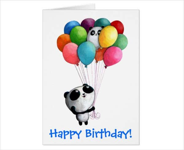 Animated Birthday Greeting Card
