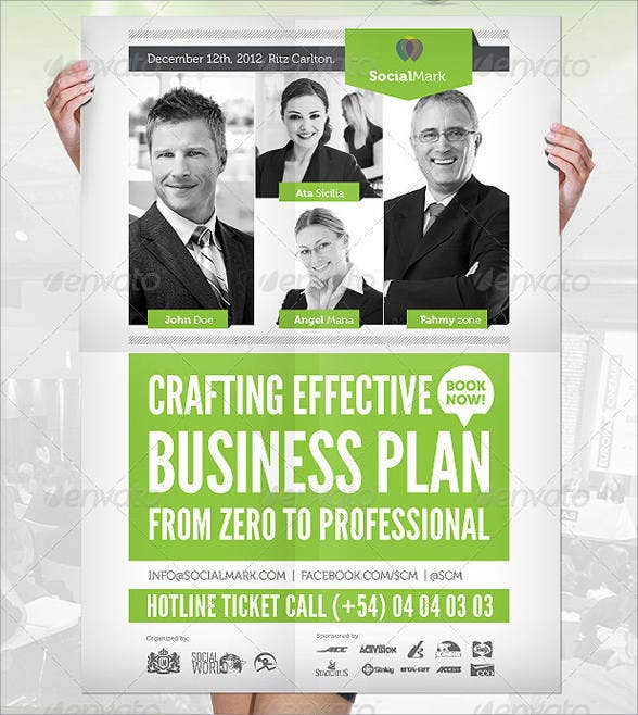 corporate business event flyer1