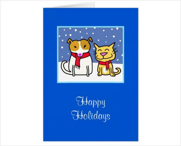Animated Holiday Greeting Card