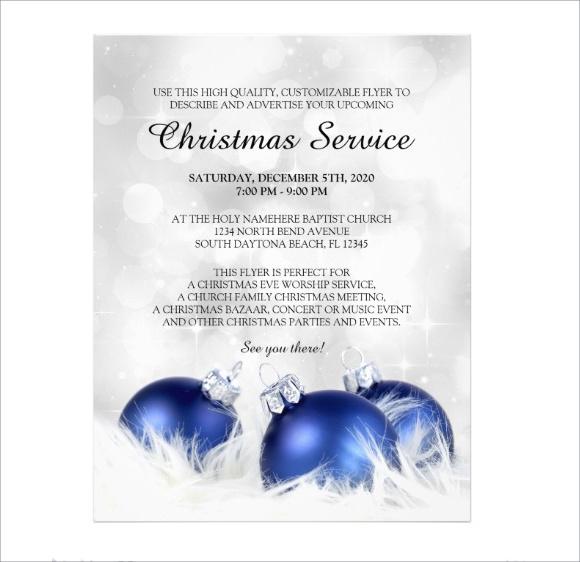 church event flyer psd1