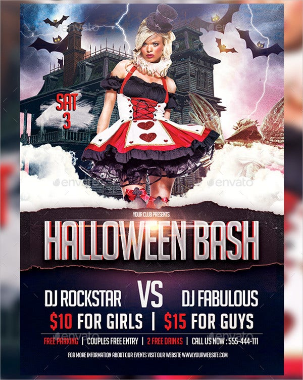 Halloween Bash Party Flyer