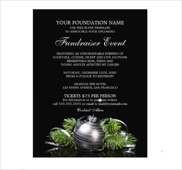 sample fundraising event flyer1