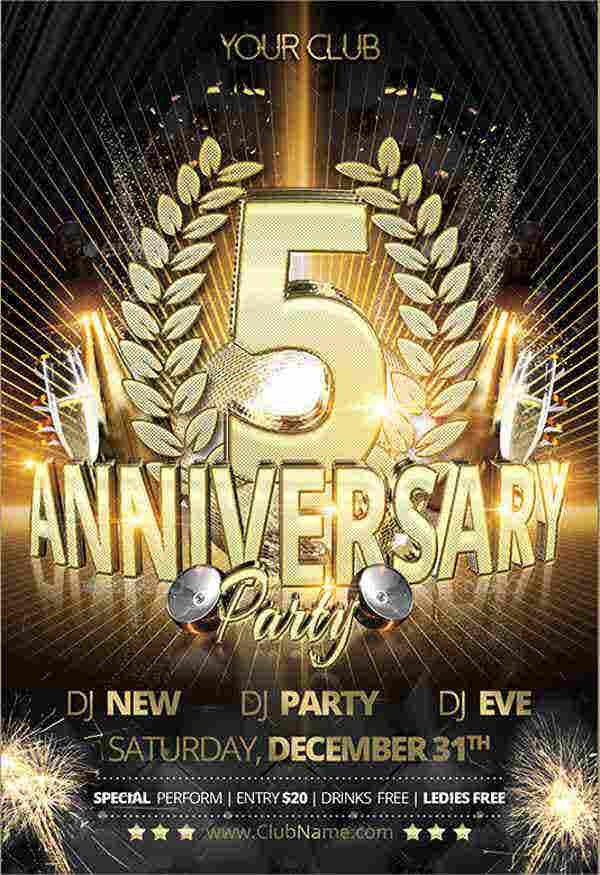 masquerade-anniversary-party-flyer