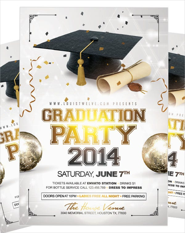Free Graduation Party Flyer