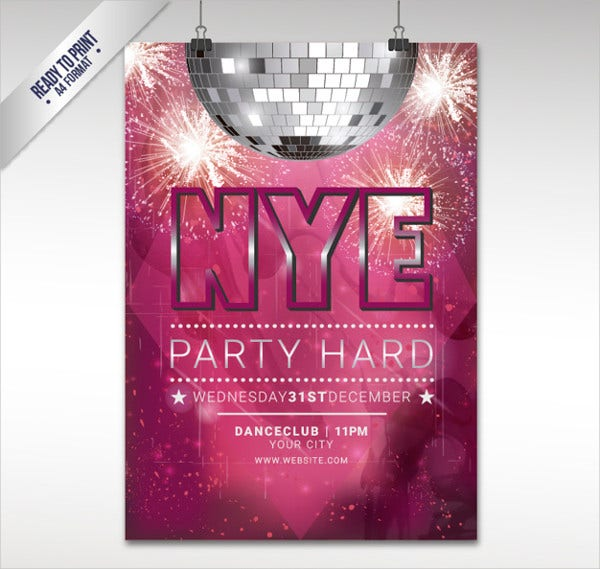 New Year' Eve Party Flyer