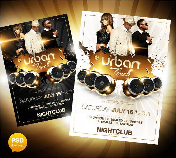 urban-touch-party-flyer