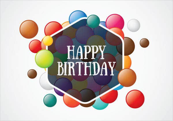 40+ Birthday Card Designs - PSD, AI, Vector EPS | Free