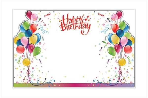 Birthday card templates free premium templates happy birthday gift card yelopaper Gallery