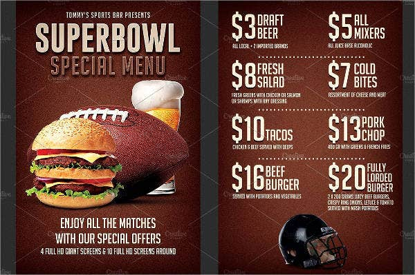 super-bowl-party-menu-flyer