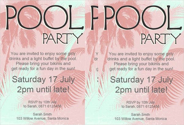 swimming-pool-party-flyer