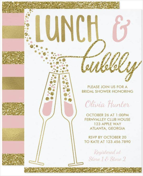 team-lunch-invitation-card