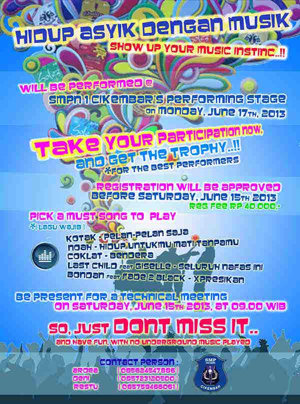 free school event flyer1