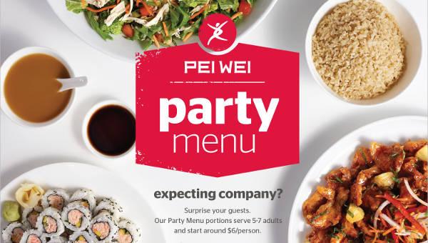 25 party menu designs