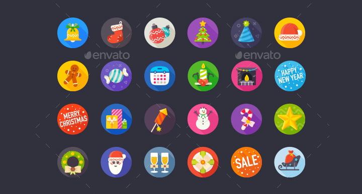 ecommerce flat icons
