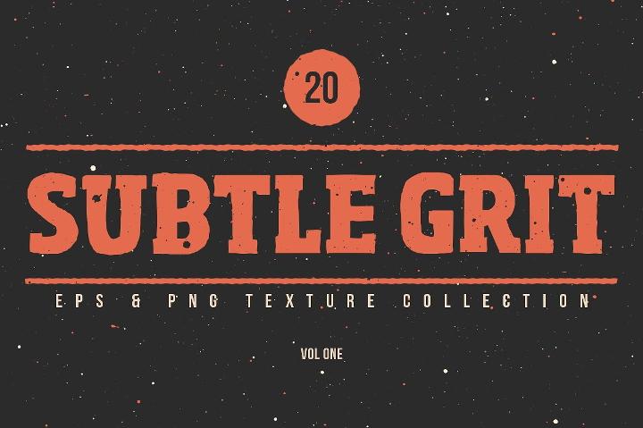 subtle grit textures