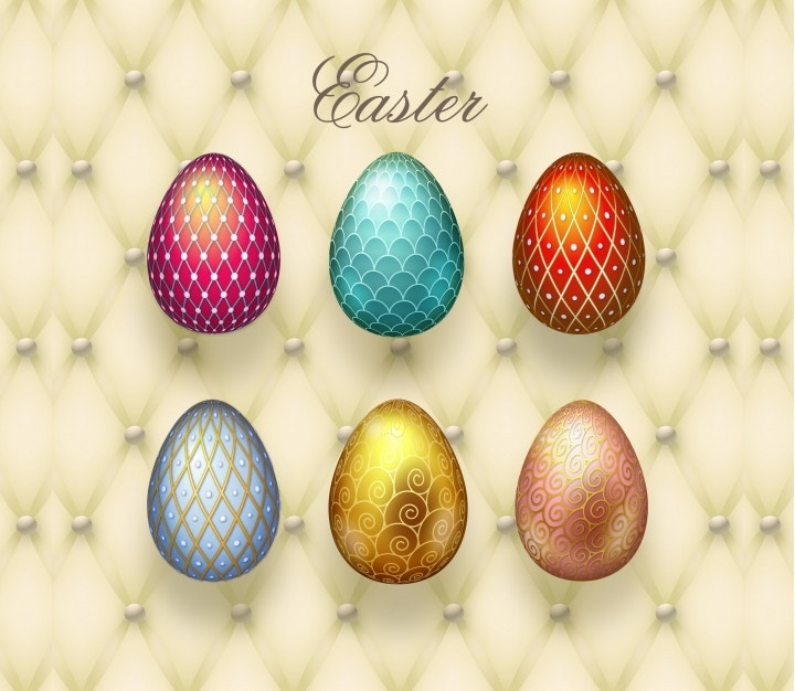easter-eggs-vector