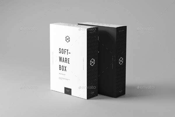 software box mockup