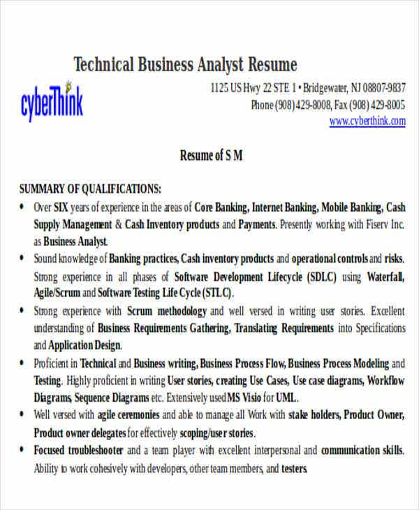 35 free business resume templates pdf doc free