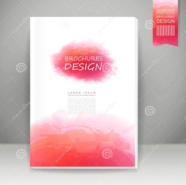 watercolor-style-brochure-design