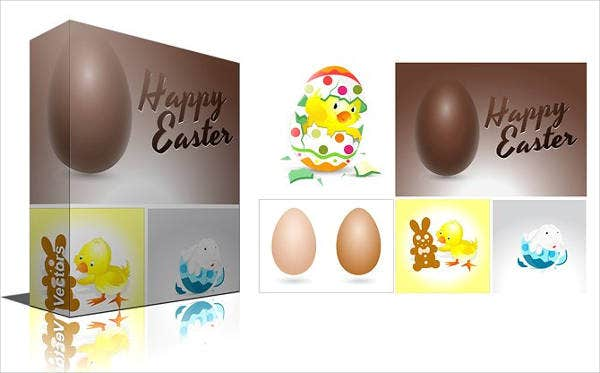 easter egg banner design
