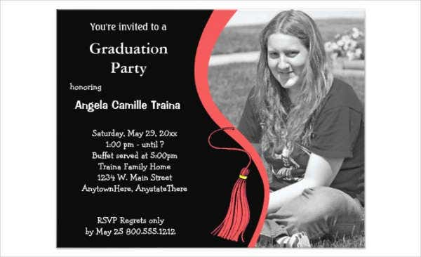 graduation day invitation flyer