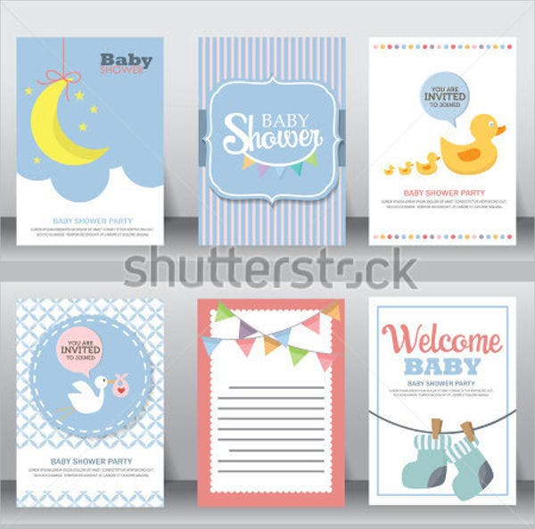 baby shower gift greeting card1
