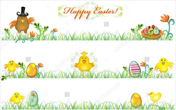 outdoor easter banner design